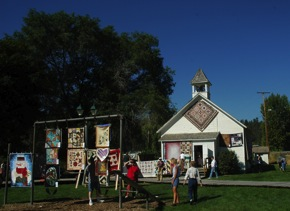 Quilts at Historic Village